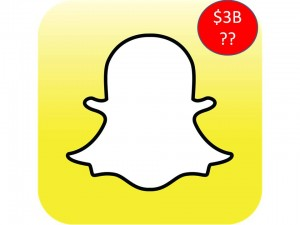 Is Snapchat worth > $ 3 B?